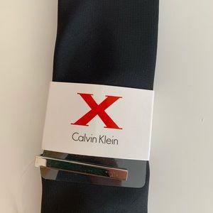 Calvin Klein black tie